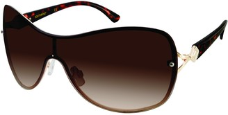 Southpole Women's 451SP Shield Sunglasses with 100% UV Protection 55 mm