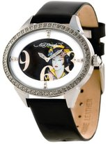 Ed Hardy Women's SG-GA Showgirl Geisha Stainless Steel 316L Watch
