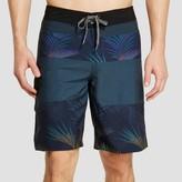 Ocean Current Men's Bermuda Board Shorts Black