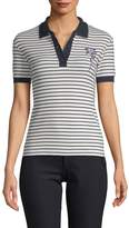 Carven Women's Deauville Striped Polo