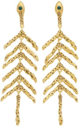 Chloé Gold Fishbone Earrings