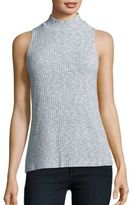 Kensie Mockneck Sleeveless Top