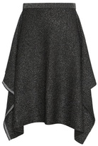 Balenciaga Metallic Knitted Skirt