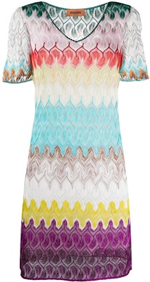 Missoni Knit Bell-Sleeve Dress