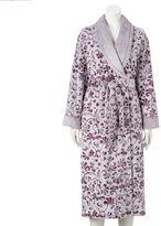 Croft & Barrow Women's Plush Robe