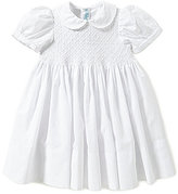 Feltman Brothers Baby Girls 12-24 Months Diamond Embroidered Smocked Dress