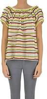 Suoli Women's Multicolor Cotton Top.