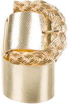 Dolce & Gabbana Embossed Buckle Waist Belt