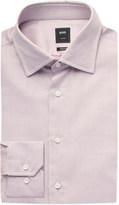 HUGO BOSS Mirco-pattern cotton shirt