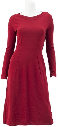 Alaia Red Wool Dresses