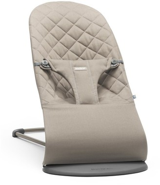 BABYBJÖRN Bouncer Bliss, Sand Grey Cotton