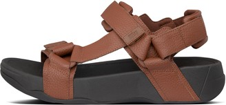 FitFlop Ryker Mens Leather Back-Strap Sandals