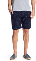 Save Khaki Anchor Print Bermuda Short