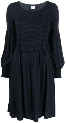 HUGO BOSS Ruffle-Waist Dress