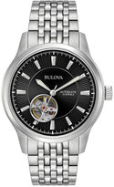 Bulova Men's Automatic Stainless Steel Bracelet Watch 40mm 96A191