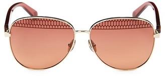 Roberto Cavalli 60MM Aviator Sunglasses