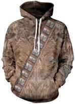 CHICOCO Hipsters Printed Long Sleeve Hooded Sweatshirt Hoodie