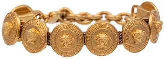 Versace Medusa Tribute coin bracelet