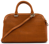 Cole Haan Women's Leesa Weave Double Zip Satchel