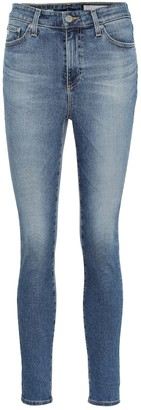 AG Jeans The Mila Ankle high-rise skinny jeans