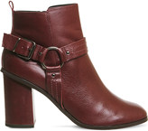 Office Lana leather harness boot