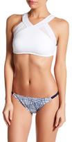 Nautica Soho Solids Mesh Inset Bikini Top