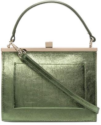 L'Autre Chose Metallic Leather Mini Bag