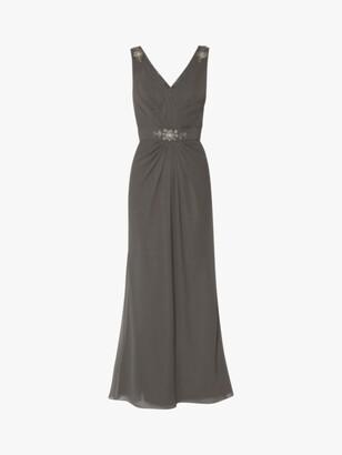 Gina Bacconi Leyton Beaded Maxi Dress