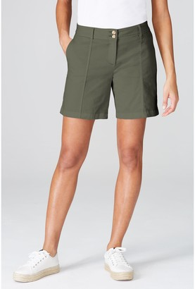 J. Jill J.Jill Cotton Stretch Shorts with Pockets