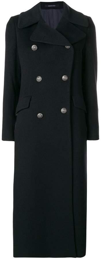 Tagliatore buttoned long coat