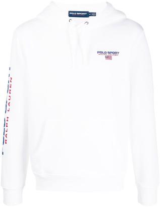 Polo Ralph Lauren Printed Logo Pullover Hoodie