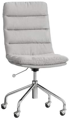 Pottery Barn Teen Spot On Desk Chair, Suede Gray