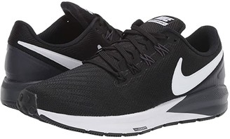 Nike Structure 22 (Black/White/Gridiron) Women's Shoes