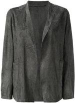 Salvatore Santoro - open-front jacket - women - Leather - 40