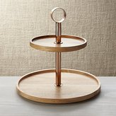 Crate & Barrel Beck Tiered Server