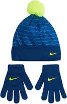 Nike Pom Beanie & Glove Set - Boys 4-7