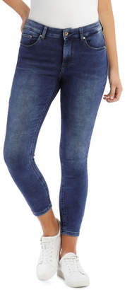 Only Mid Rise Ankle Jeans