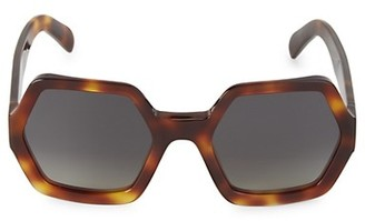 Celine 56MM Octagon Sunglasses