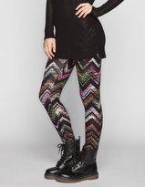 Full Tilt Electric Ethnic Print Womens Leggings