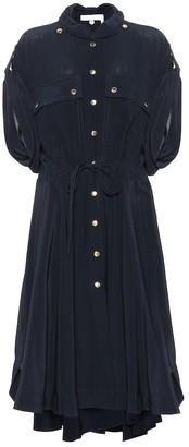 Chloé Silk shirt dress