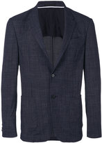 Z Zegna notched lapel blazer - men - Elastodiene/Wool - 50