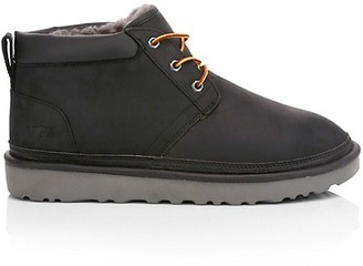 UGG Neumel Utility Leather-Blend Ankle Hiking Boots