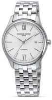 Frederique Constant Classics New Index Stainless Steel Watch, 40mm