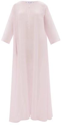 Thierry Colson Samia Cotton-blend Voile Kaftan - Womens - Pink