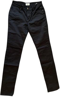 Cerruti Black Cotton - elasthane Jeans for Women