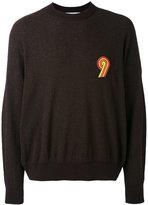 Ami Alexandre Mattiussi 9 patch boxy sweater - men - Cotton/Polyamide - XS