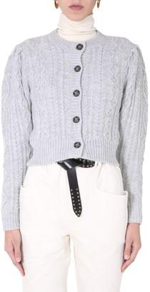 Etoile Isabel Marant Rianne Cable-Knit Cardigan