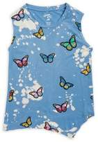 Flowers by Zoe Little Girl's and Girl's Printed Tank Tops