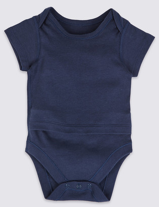 Marks and Spencer Adaptive Pure Cotton Bodysuit (7lbs-3 Yrs)