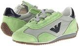Armani Junior T8593 QK (Toddler/Little Kid) (Green) - Footwear
